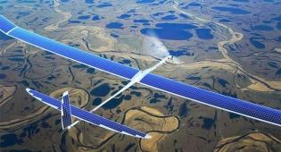 המטוס הסולארי של גוגל - גוגל הקפיאה את מיזם המטוס הסולארי; פייסבוק ממשיכה