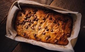 עוגת בננות ושוקולד צ'יפס