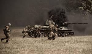 החיילים הסובייטיים בפעולה - שחזור