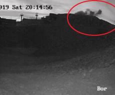 תיעוד וידאו: רגע פגיעת הטיל הסורי בחרמון