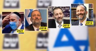 """יו""""ר ש""""ס, אריה דרעי - מחזרתו ב-2012 ועד שנת 2021 באופוזיציה"""