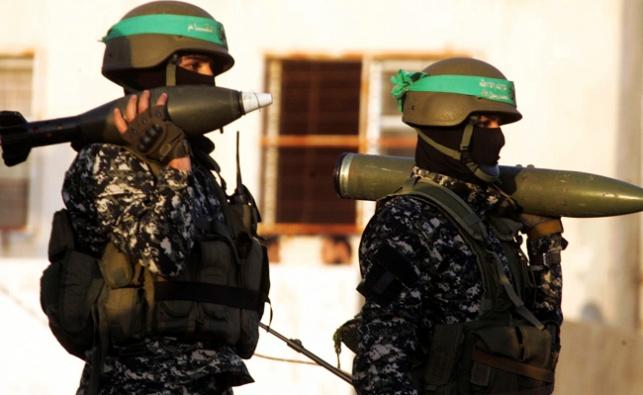 פעילים בזרוע הצבאית של חמאס. ארכיון