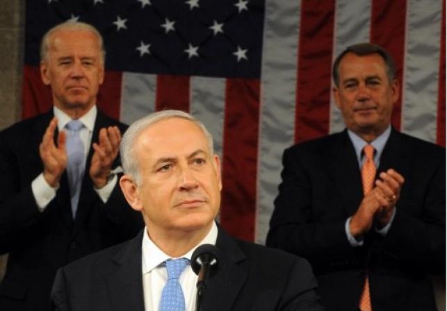 נאום נתניהו בקונגרס ישודר בהשהיה
