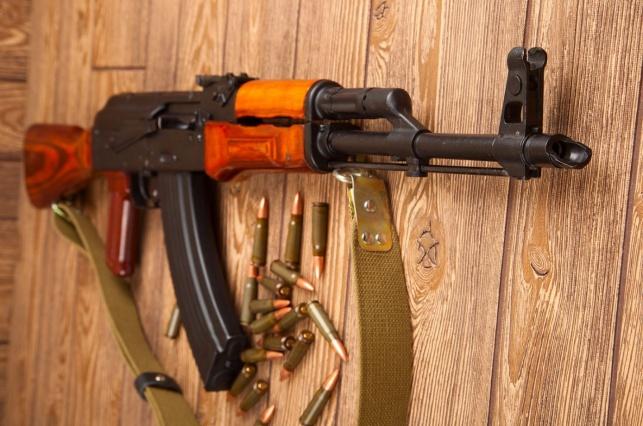 רובה מסוג סער 47-AK מתוצרת קלצ'ניקוב