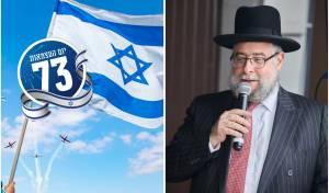 הרב פנחס גולדשמידט ודגל ישראל