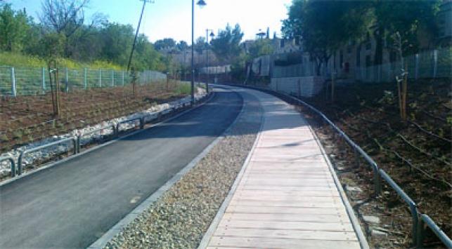 שביל האופניים - 42 קילומטר: שביל אופניים סובב ירושלים