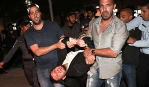 """ערב """"יום הזעם"""": צעירי הפלג מתפרעים בי-ם"""