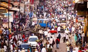 רחוב במומביי, הודו