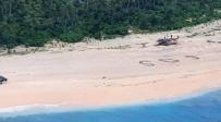 כמו בסרט: חולצו מאי בודד בזכות SOS ענק