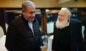 הרב צוקרמן עם נתניהו