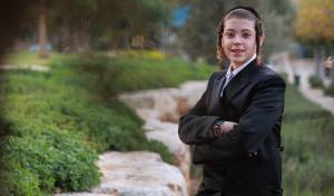 רק בן 13 וכבר מפיק ומעבד: איציק ברגר מגיש