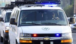 כוחות משטרה בבני ברק