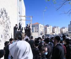 מהומה בביתר: המשטרה סגרה בתי כנסת