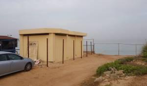 החוף בחדרה: הוסרו גדרות, יוחזרו המחיצות