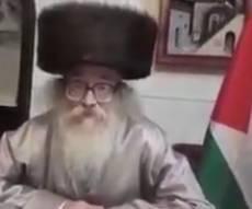 """""""מייחל להחזרת אדמת פלסטין לפלסטינים"""""""