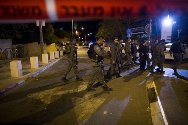 זירת הירי ביהודה גליק