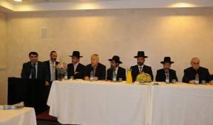 הרבנים בכינוס המיוחד
