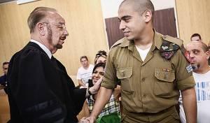 """אלאור בבית המשפט, הבוקר - ביהמ""""ש שחרר את אלאור אזריה למעצר בית"""
