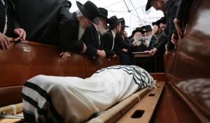 """הלווית הגאון רבי שמואל אוירבך זצ""""ל. גלריה"""