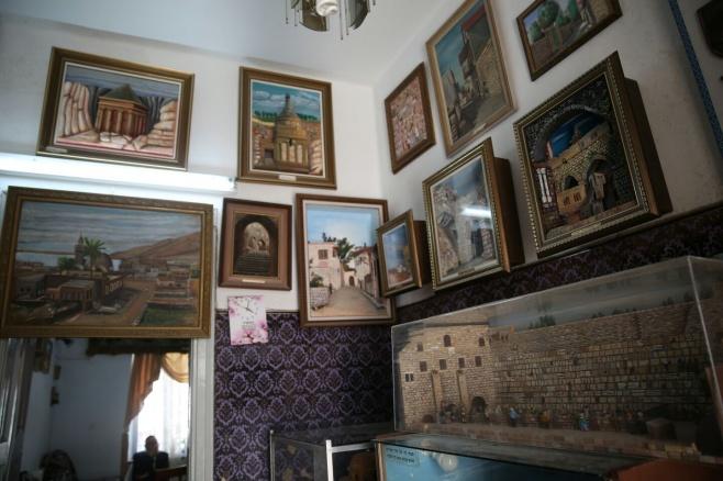 """כך נראה ביתו של הצייר רבי יעקב ויסברג ז""""ל"""
