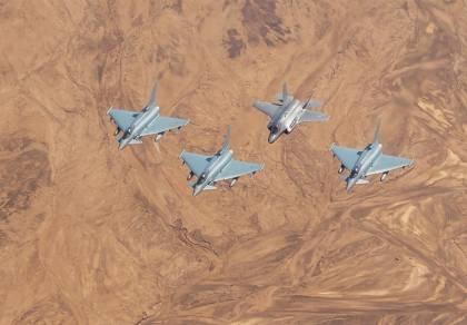 כך נראה התרגיל הגדול של חיל האוויר • צפו