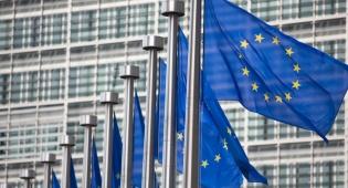 בניין הפרלמנט בבריסל - באירופה אישרו חוק נגד ההסתה הפלסטינית