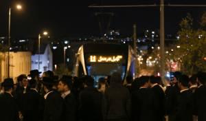 ה'עצניקים' שוב חסמו כביש מרכזי בירושלים