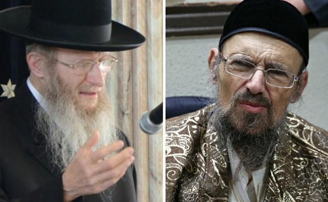 הרב דב קוק והרב דן סגל