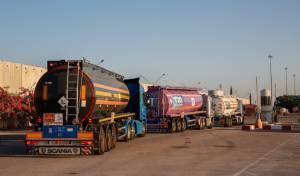 משאיות מעבירות סחורה לעזה, ארכיון