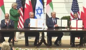 נחתמו הסכמי השלום עם האמירויות ובחריין