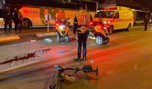 בן 30 רכב על קורקינט, נפגע מאוטובוס ונהרג
