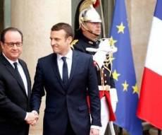 הנשיא בטקס - מקרון הושבע לנשיאה ה-25 של צרפת. צפו