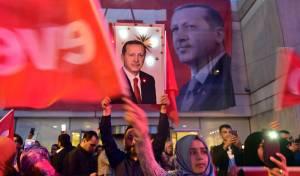 עצרת בחירות בטורקיה