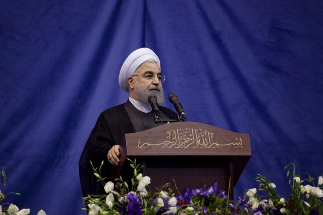 נשיא איראן חסן רוחאני. ארכיון