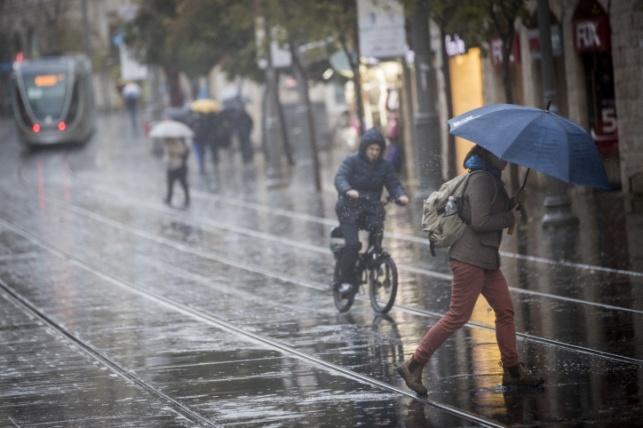 הסערה הנוכחית: אלו כמויות הגשמים שירדו