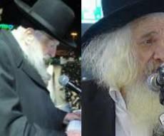 הרב קלמנוביץ' והרב דויטש