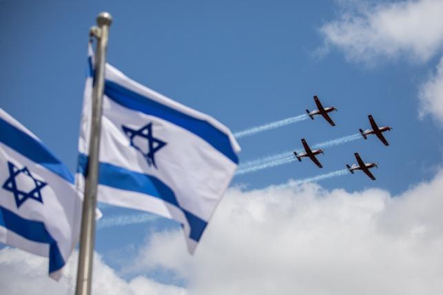 מטס חיל האוויר מתכונן ליום העצמאות