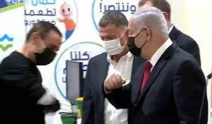 ג'בארין עם ראש הממשלה נתניהו