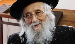 """גאב""""ד העדה החרדית הגאון רבי יצחק טוביה וייס"""