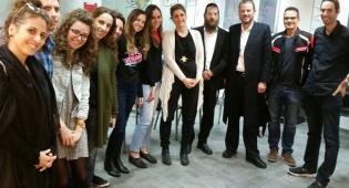 מה חיפשו עובדי אתר ynet בבני ברק? צפו בתיעוד