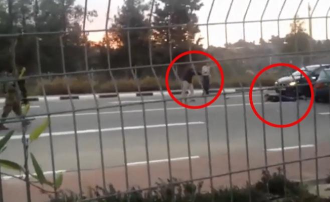 מעצר המחבל באקדחים שלופים • צפו בווידאו