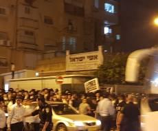 בית כנסת 'אשי ישראל', מוקד היציאה להפגנות