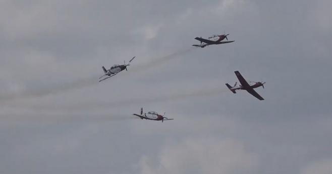 """תיעוד: מטס חיל האוויר מעל בי""""ח 'בילינסון'"""