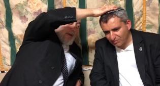 """ראב""""ד י-ם לאלקין: שהקב""""ה ייתן לך חן לנהל את ירושלים"""