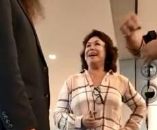 האשה מ'סרטון התפילין': פרופסור לתרבות