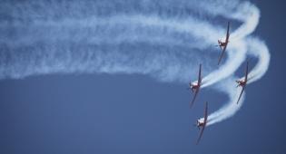 אימוני חיל האוויר לקראת מטס העצמאות