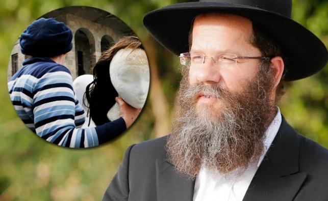 הרב מאיר אשכנזי. לאישה המצולמת אין כל קשר לכתבה