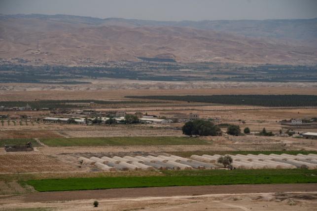 עמק הירדן ונופי עבר הירדן
