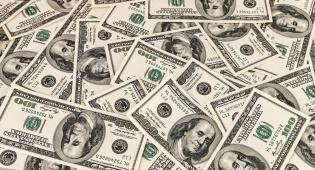 ארנק כסף דולר