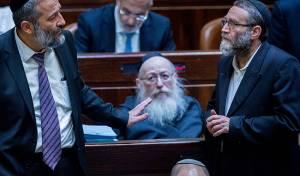 """גפני, ליצמן ודרעי - שר בכיר בליכוד: """"חוק גפני לא יעבור"""""""